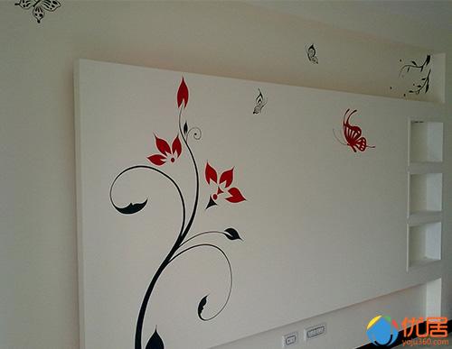 那试试个性的手绘墙面吧