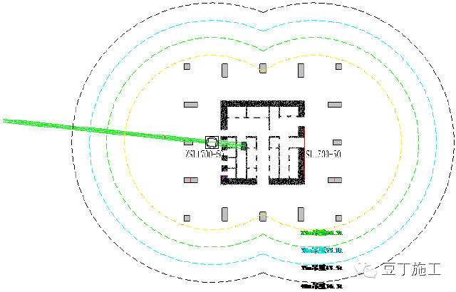 房产 正文  分析:按双拼钢柱最大构件55吨计算,1700塔吊吊装能力能
