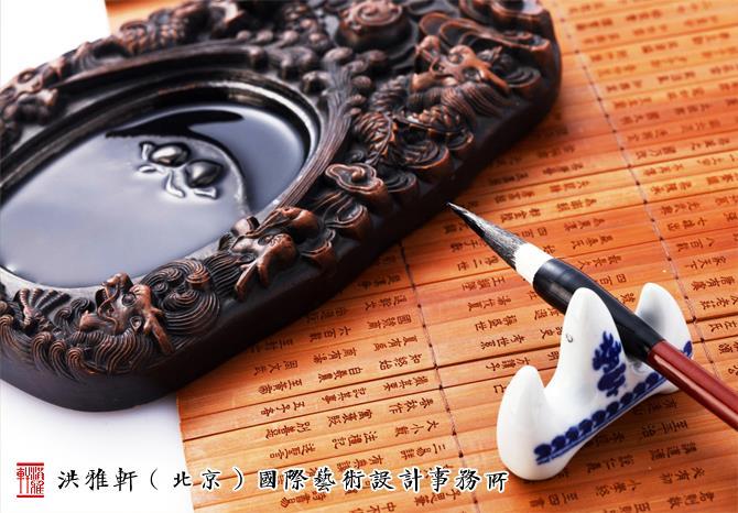 中式书房空间歙砚陈设 流淌着风雅气息与禅静之美