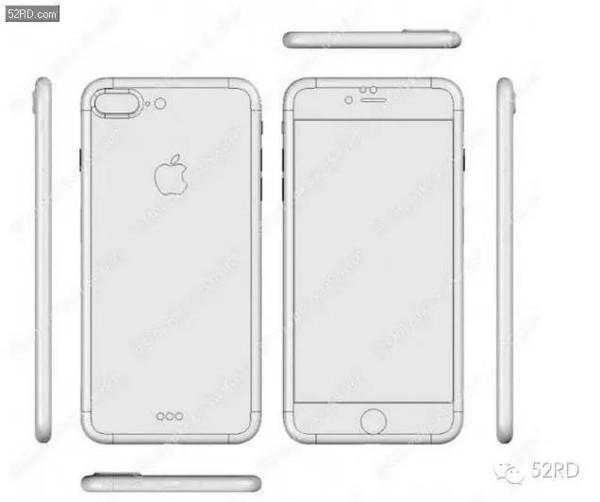 iPhone 7 Plus   1、3.5毫米耳机接口真的没了,两个版本都没有乐视可以放心了。   2、背部天线条位置挪到了顶部和底部边缘魅族你赢了。   3、底部只有单侧扬声器开孔,立体扬声器似乎真的没戏了。   4、iPhone 7单后置摄像头,iPhone 7 Plus双后置摄像头(据说仅此一个版本),依然突出,但是镜头周边没有了金属环。   5、iPhone 7 Plus还拥有Smart Connector智能接口。   整体来看,iPhone 7系列的外观设计风格和现在的iPhone 6/6S