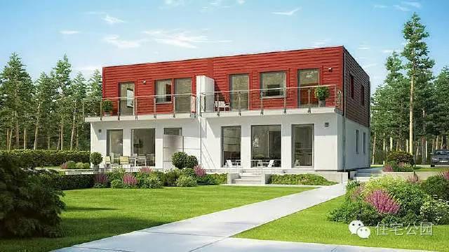 新农村自建房 兄弟双拼房型新方案10套图片