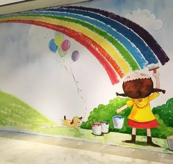 儿童手绘墙