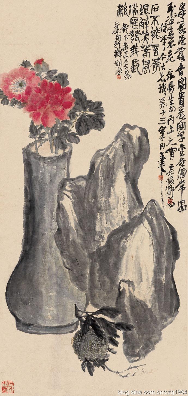 吴昌硕绘画作品欣赏图片