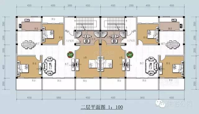 新农村自建房3层15米x13米