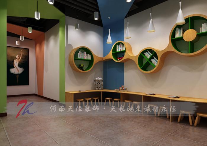 郑州舞蹈培训学校舞林大会装修设计案例高清图片