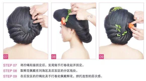 娘发型详细步骤图解