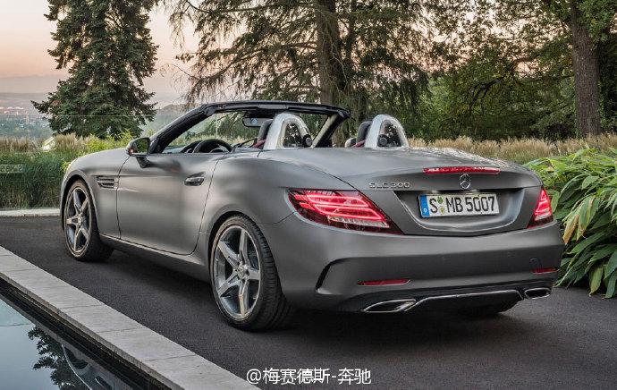 2017款奔驰slc200 slc220 slc260图片 北京奔驰4s图片