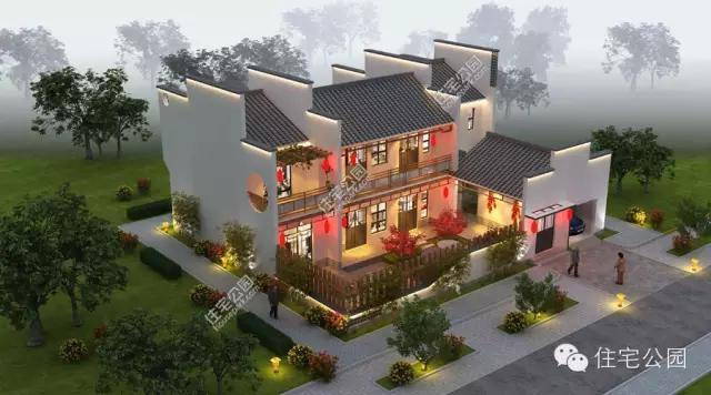 图纸建农村四合院徽派小院水闸好含平面图还是房子6m图片