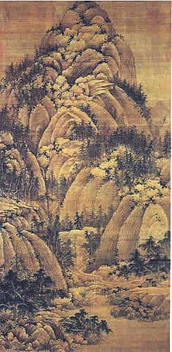 历代国画古代名家作品欣赏图片