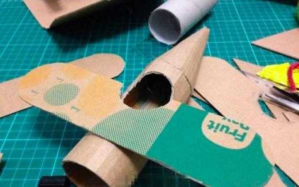 儿童鞋盒手工制作