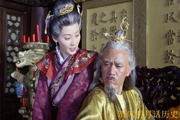 电视剧《传奇皇帝朱元璋》剧照,朱元璋与马皇后.