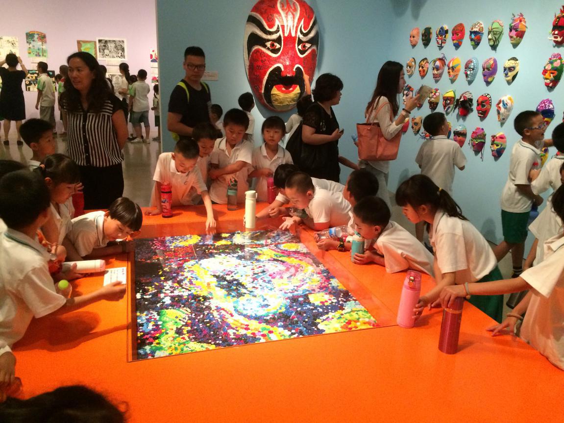 北京服装学院小学工程儿童艺术作品展