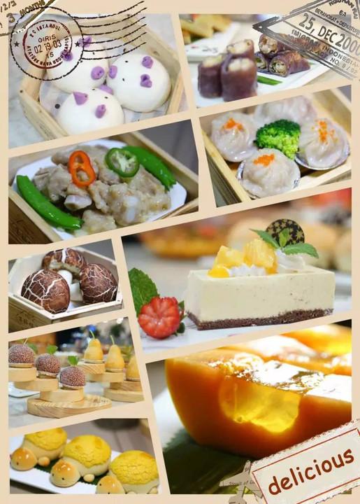 佛山至任性全天茶市,中式茶点,西式甜品,创意点心统统图片