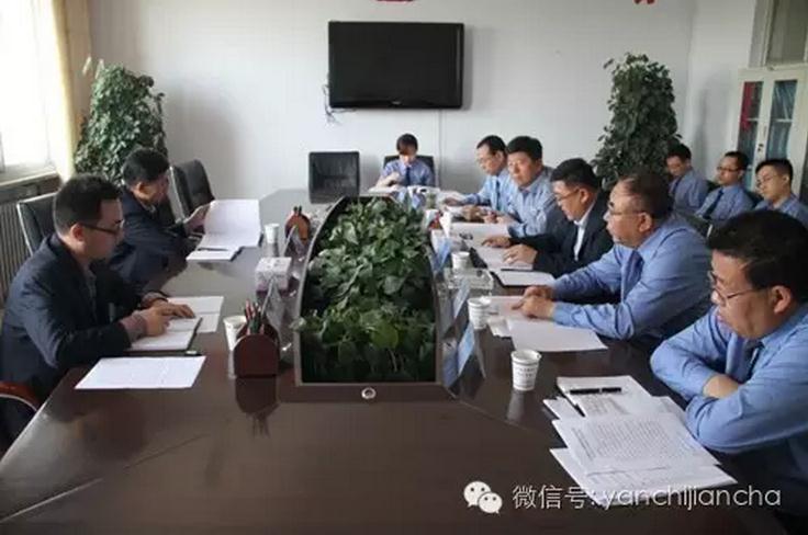 市检察院马国武检察长深入基层调研工作召开座