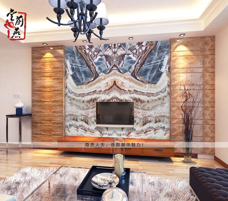 有背景就是不一样,奢华大气欧式客厅背景墙