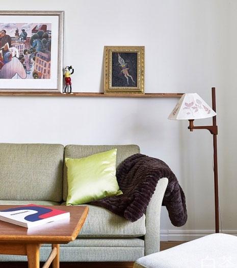 极简北欧风15图 儿童房小而简单,没有过多的装饰品,对于70平米小户型