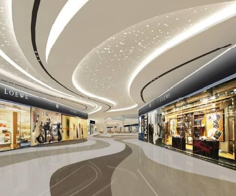 揭秘:广西最具商业超市综合体,坐拥永辉公司、西安三合建筑设计品质图片