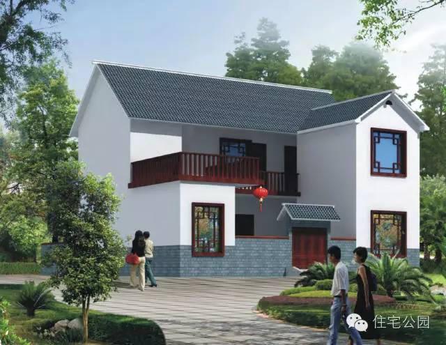 房屋外观风格古朴,中国风满满,造型简约,不为追求造型而增加成本,在湖图片