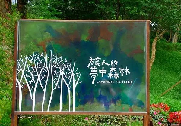 一定要注意防蚊虫哦 ▌薰衣草森林(尖石店) 薰衣草森林,是创始于台湾图片