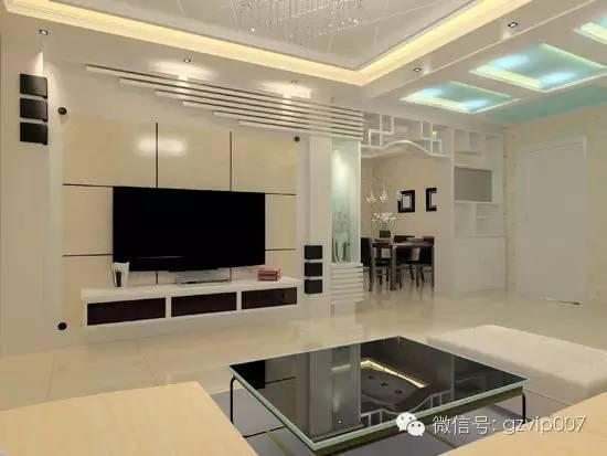 客厅装修电视背景墙设计