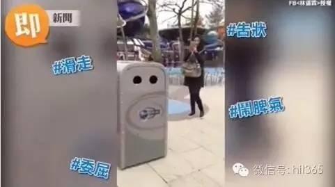 这是香港迪士尼的一个逆天垃圾桶
