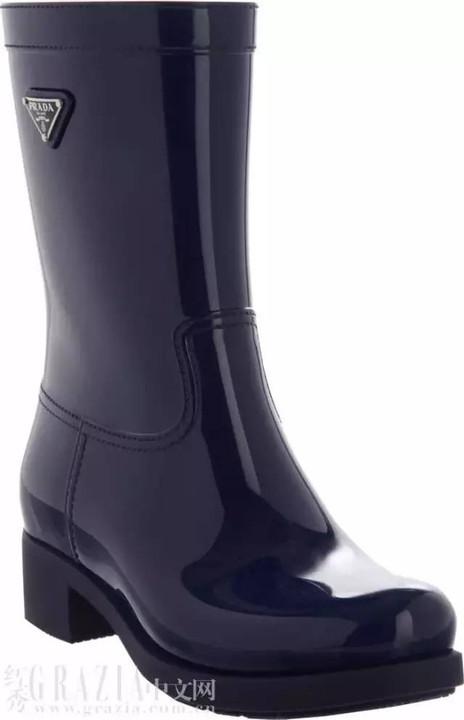 下雨天,就该这样穿雨鞋