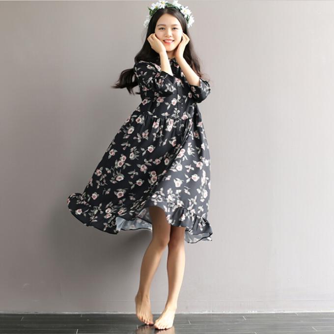 夏天最适合穿复古连衣裙了 这10件总有你喜欢的