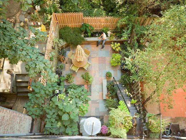 各种沉降式庭院设计 图片