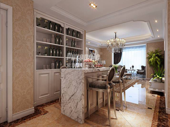 上海别墅装修酒窖怎样设计?