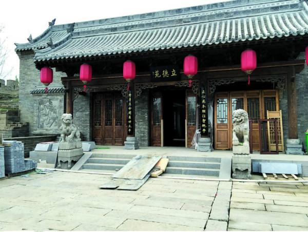目前,老城古城改造一期工程文峰塔周边文峰广场建筑群已现雏形,下
