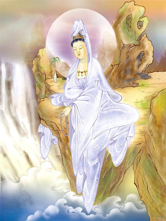 32种观音菩萨显像相及民间传说图片