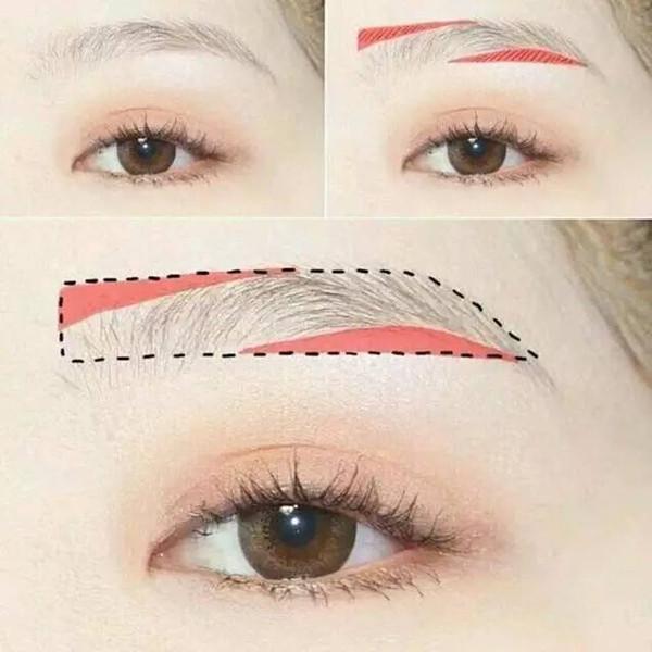 眉型图片-半永久眉型图片大全集|眉型图片大全集|眉毛图片|圆脸适合什么眉型|眉型设计与画法