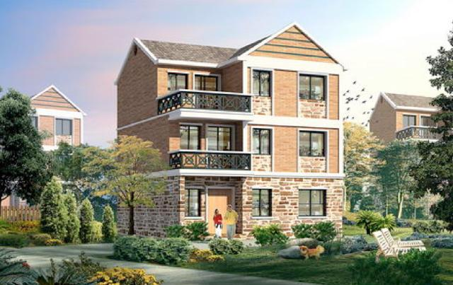 房产 正文  微信公众号:住宅公园,300套自建房图纸下载,全国各地施工图片