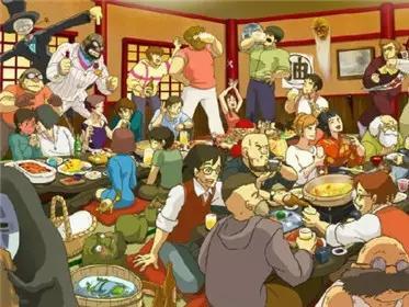 宫崎骏公众平台中的动画大赏-微信电影美食精北京四线号美食图片