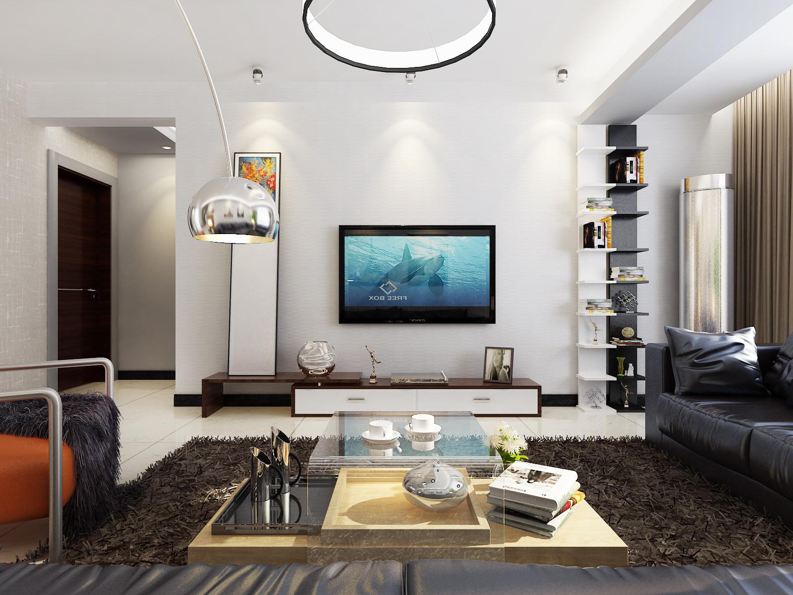 10平米-客厅装修效果图