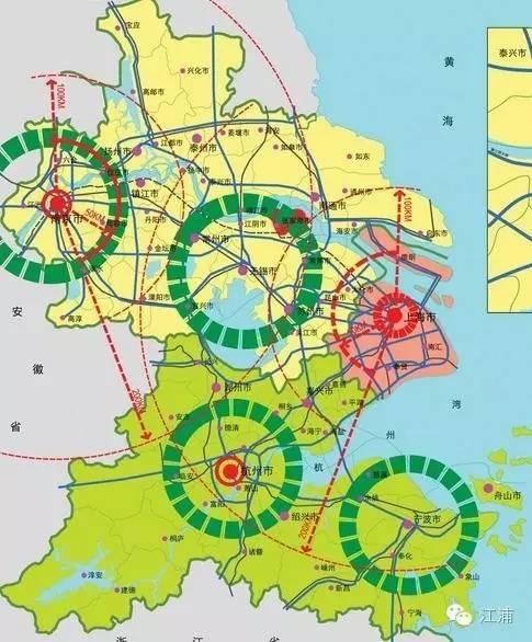 世界地图矢量辐射