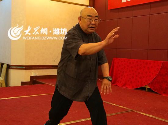 山东潍坊举办太极拳培训班 助推老年健身热潮