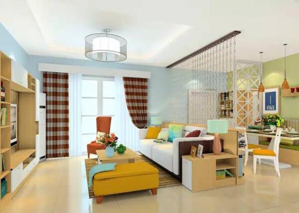 客厅隔断装修 让你家多出一间房