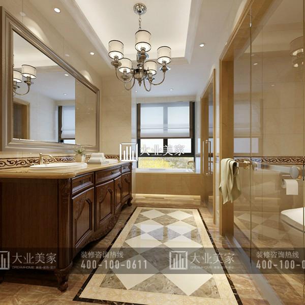 枫丹壹号300平米欧式风格别墅装修设计