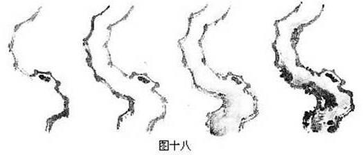 国画梅花的各种画法图片