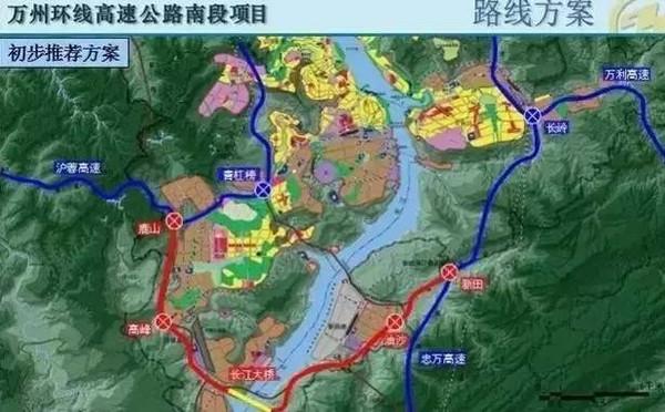 万州茅坝山地图