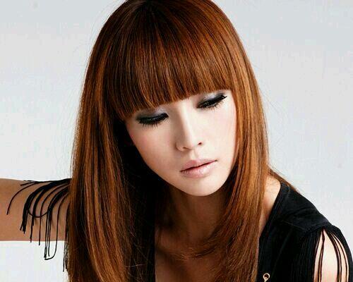 一剪梅齐刘海发型有多美,请看范冰冰等女神