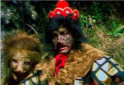 他是86版西游记中的黑熊怪,在剧中一人竟饰演13角 项汉饰演的黑熊