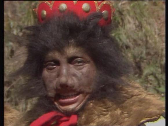 他是86版西游记中的黑熊怪,在剧中一人竟饰演13角