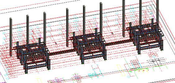 锅炉钢构吊装 利用bim技术制作3d动画,对钢结构结合及安装吊装
