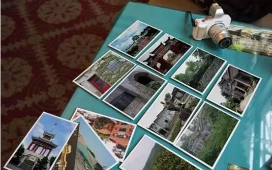(参赛创意方案中对衍生产品明信片的设计)图片