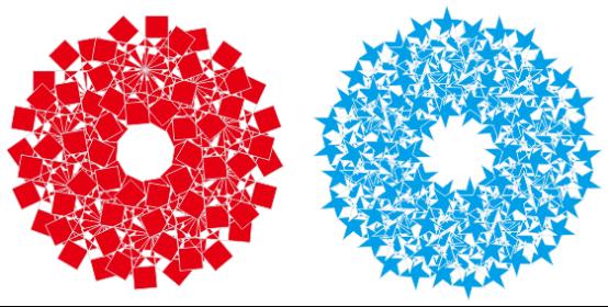 coreldraw案例分享:剪纸花纹