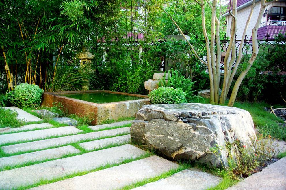 日式别墅景观设计的风格要素