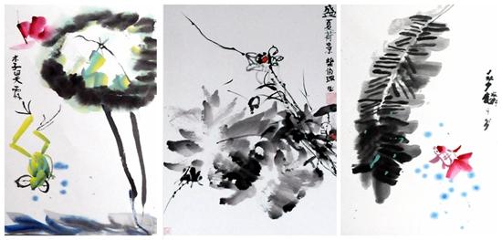 放飞梦想 庆六一美术作品展在非凡宝贝幼儿园举办伍佰艺书画网图片