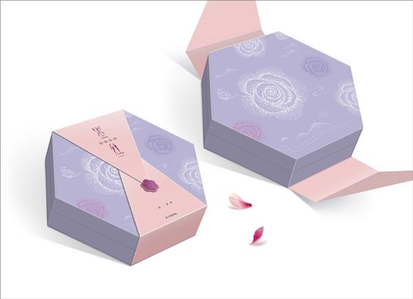 规则的六边形纸盒包装